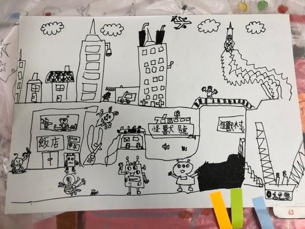 美術班考試兒子考美術班的畫作, 43人錄取22人, 竟讓他考上了!