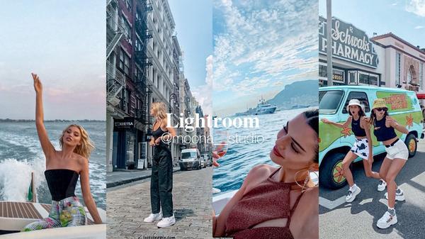 Lightroom ✨ 蔚藍大海色調Instagram|@moona.shareLightroom調