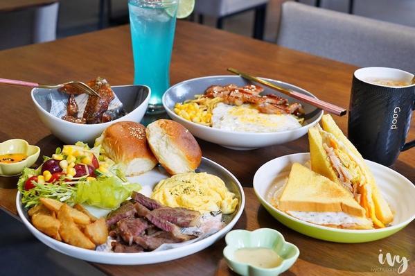 台中大里美食,親子友善餐廳,必推份量飽足早午餐、吸睛彩虹三明治!#台中早午餐-📍FUN