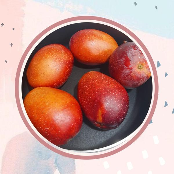 有香甜的芒果可以吃😋 有媽真好❤️