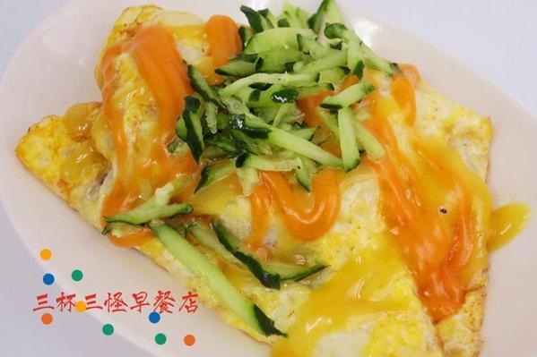 台北/士林區/三杯三怪早餐店#社子必吃早餐店 這間店的老闆娘天生反骨😏在這裡可以吃到外面吃不到的媽