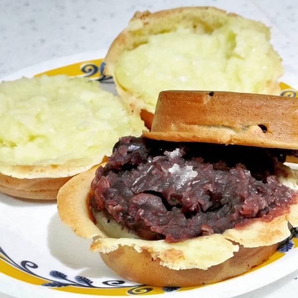 台北大安區甜點【晴光紅豆餅】一顆12元 大紅豆+小紅豆混合內餡下午茶~#晴光紅豆餅就在#