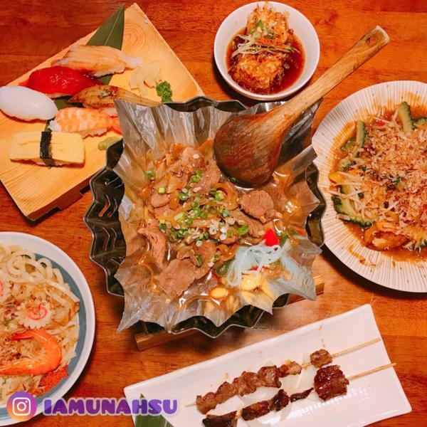 廢公主娜娜食祭ตᴺᴼ.3 桃園美食|八條壽司今天跟著廢娜來桃園嚐嚐日式沖繩料理吧!  今天要吃的餐廳