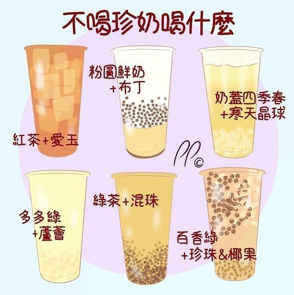 夏天就是要喝手搖!珍奶以外的好選擇,你都試過了嗎?再喜歡喝珍珠奶茶,偶然還是會想嚐個其他飲料,特別是
