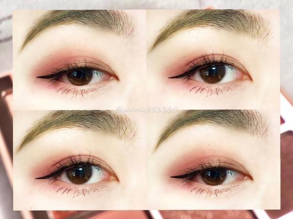 使用 Dasique 輕鬆打造日常眼妝🥺1.使用Rosy Brown 打底 2.Rose Blos