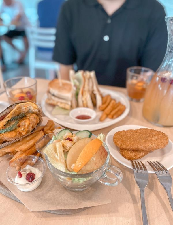 台灣🇹🇼台南美食 6吋盤每次到台南除了吃丹丹之外 偶爾也會跑來吃這個#6吋盤早午餐  這個每項都
