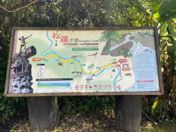 「宜蘭|秘境」松羅國家步道,一起爬山玩水吧!宜蘭大同鄉有許多獵人步道,更是擁有許多天然山脈的地方,除