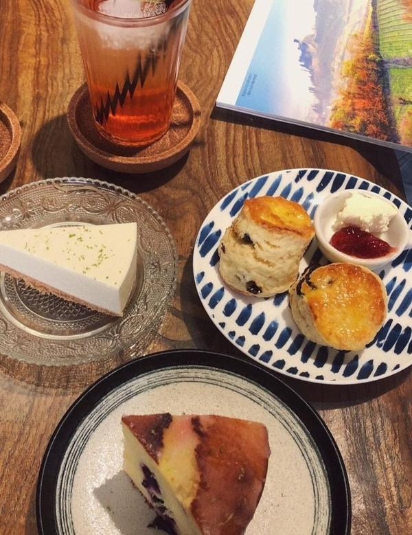 新竹竹北.減糖下午茶,英式司康、藍莓老奶奶磅蛋糕、檸檬生乳酪,二街咖啡位於竹北的二階咖啡已經熱門一陣