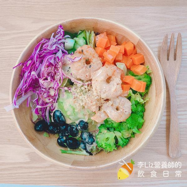 Haloa Poke☆夏日最佳輕食夥伴除了subway、內湖鼎鼎大名的覺旅後,又發現不錯的輕食餐廳—