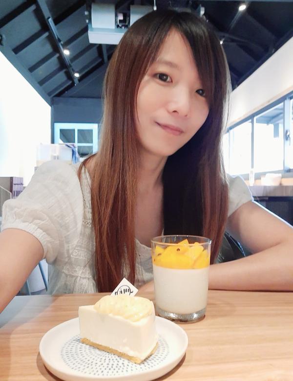 花蓮 哞啾甜點工作室甜點很天然,又有低糖的蛋糕可以選,夏天的檸檬起司蛋糕跟芒果奶酪真的一絕
