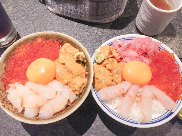 最愛的生魚片丼飯吃過不少生魚片丼飯 👉🏻魚君👈🏻 真的大獲我的愛 ✅飯量很夠,不愛吃飯的人一