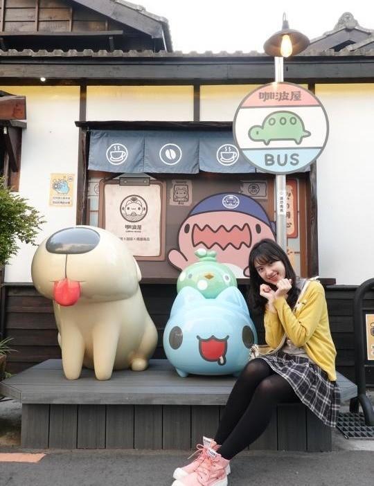 咖波屋在勤美誠品草悟道附近而已~~審計新村也在附近XD 奶泡貓咖啡就在附近(σ≧▽≦)σ 超可愛超好