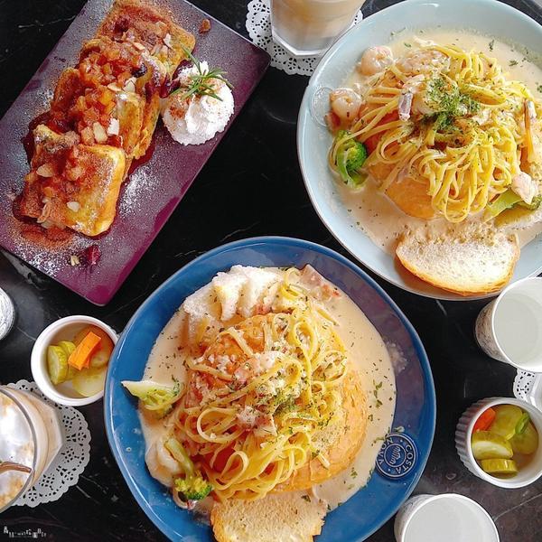 弘大 延南洞👉The April 超美味人氣早午餐咖啡廳!!跟著美食家SHINee KEY去吃好料