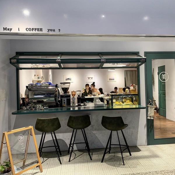 【新北美食/新莊】May I coffee you 不限時咖啡廳新莊不限時咖啡廳 如果你也喜歡簡約風