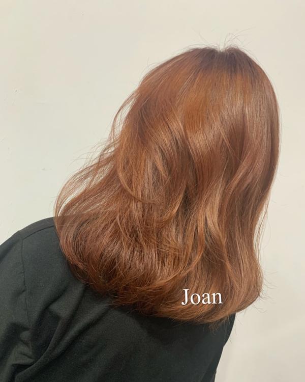 不用漂髮色首選👑夏天粉橘色🍊 不用漂的髮色🍊 —————————— 7月份開始預約 joan