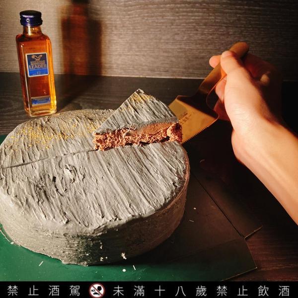 2020父親節話題蛋糕 大人系甜點 起士公爵磐石威士忌乳酪蛋糕#起士公爵#CheeseDuke今年父