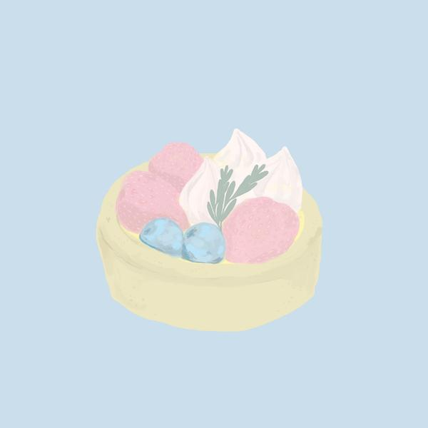 水果吉士撻🍓  插畫ig :kimideer