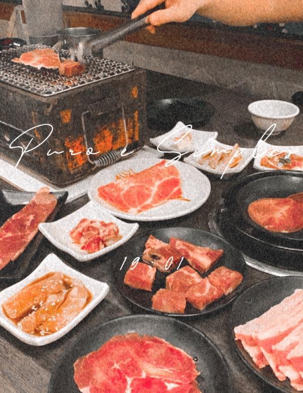 ( ᴛᴀɪɴᴀɴ | #燒肉 )也算是台南老字號燒肉店 第一次來用餐 對於整體服務及環境 覺得普通