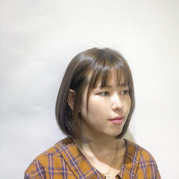 觀音拿鐵特調 短髮真的修飾臉型又減齡  Fin hair salon 🔗台北市南京西路23巷5號之