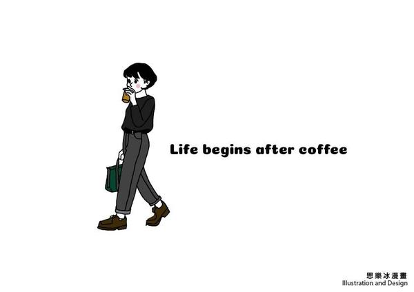 [life begins after coffee]☕️