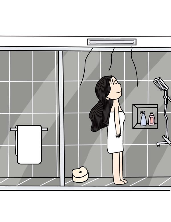 讚嘆浴室冷暖抽風機的發明 ~ 冬暖夏涼  夏天躲在裡面玩手機玩到腳麻 🤪