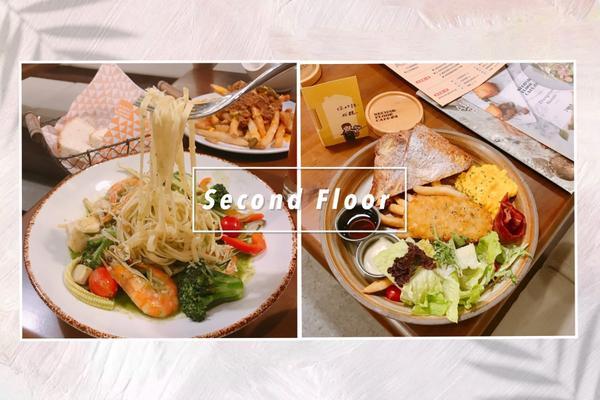 |台北_中山站美食|薇葳の享食ㄖ記《Second Floor Cafe 貳樓餐廳》3天內吃了2家義大