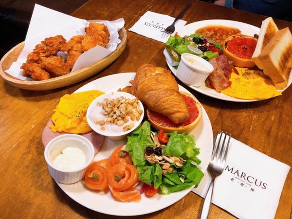 天母美食/ Marcus 老倉庫 #英國女王早餐 去英國沒有吃到燉豆真的很可惜,想念的時候就會來吃這