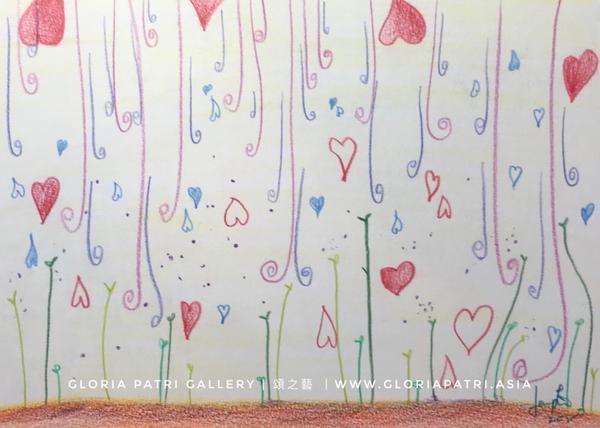 插畫 | 雨露雨露  我喜歡雨露,它們滋潤我的心 它們一點一滴陪我成長 讓我的心充滿溫暖 看到嫩芽慢