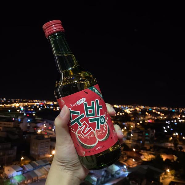 【分享】夏天來瓶冰涼涼的西瓜燒酒去你的暑氣吧🍉🍉🍉🔞未滿18歲請勿飲酒喔🔞⛔️喝酒不開車開