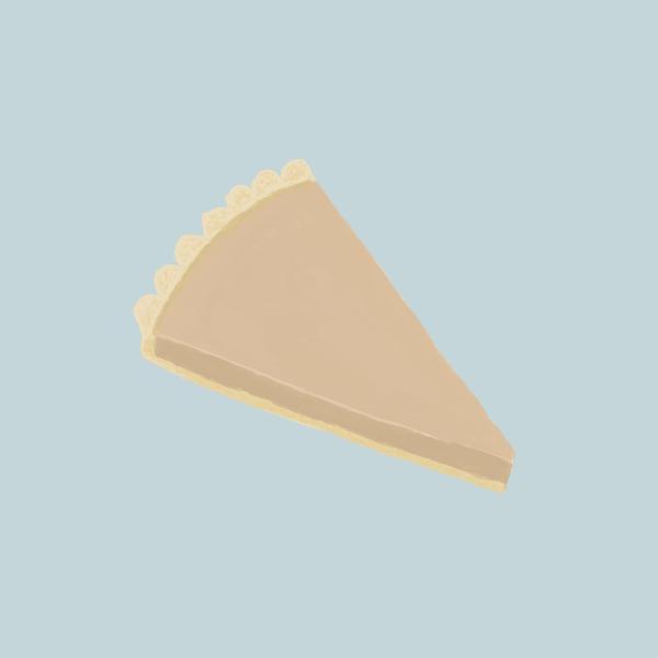 Chocolate Tart 🥧  插畫ig  : kimideer