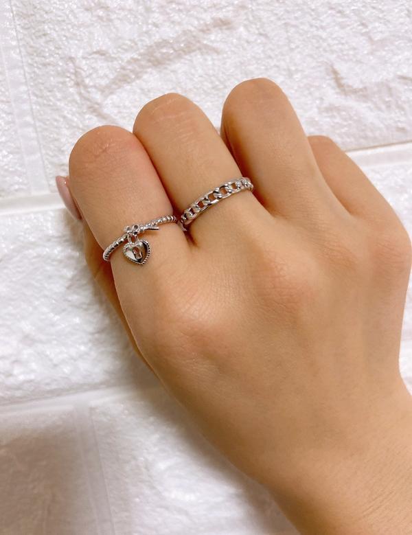 第二次回購的韓國飾品賣家質感真的超好又超美的#飾品#韓國飾品#純銀#戒指#項