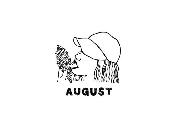 Hello augustMy favorite month of the year.