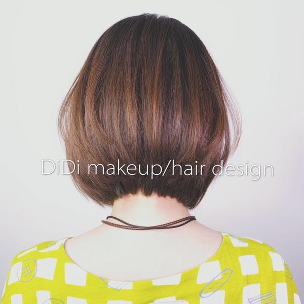 短bob髮型DiDi Makeup/Hair Design  #藝術創作家 #短瀏海+#對比倒V+#