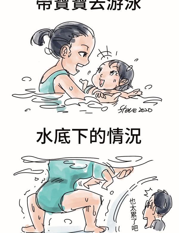 帶寶寶去游泳還好不是我下去⋯FB粉絲頁:https://www.facebook.com