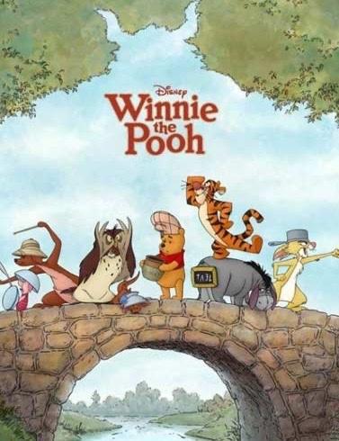 聊電影|Winnie the Pooh電影版小熊維尼這是Gin第一次認真看完維尼牠們到底在幹什麼,小