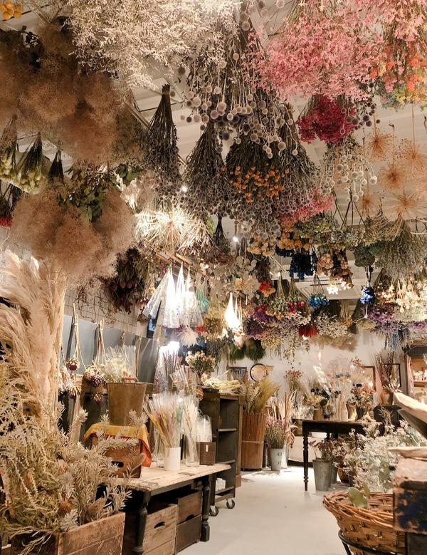 🇯🇵京都 絕美乾燥花咖啡廳 網美必訪京都最美麗的乾燥花咖啡廳☕️ 《1er ÉTAGE》 📍