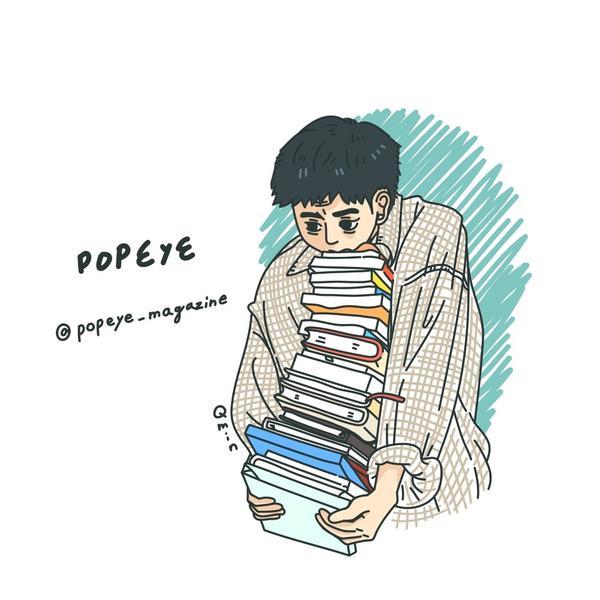 [雜誌插畫]popeyeBooks~