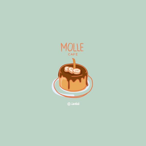 Molle Cafe 韓國釜山咖啡廳 是的!因為疫情的關係,所有的出國計畫都泡湯了 想念去年在釜山吃