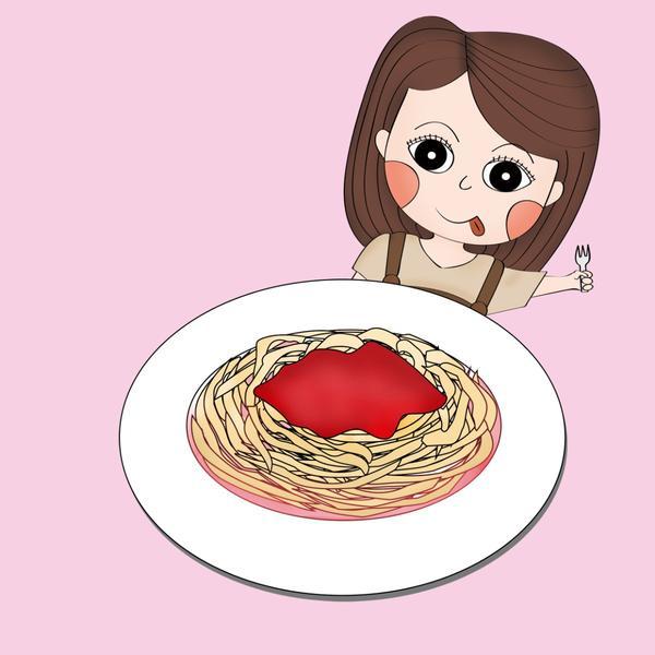 小資女孩自製午餐之〝韓式泡菜辣醬義大利麵〞🍝每天都在想今天午餐要吃什麼嗎?由於上班的地方附近都是超