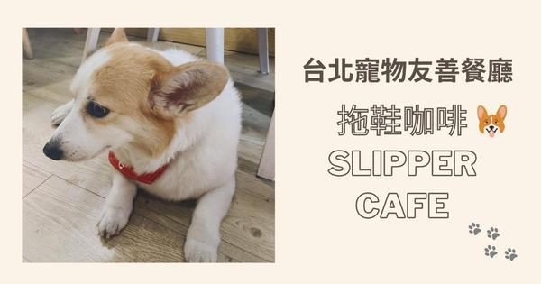 台北寵物友善│捷運北投站│拖鞋咖啡Slipper Cafe 有可愛科基坐鎮的早午餐餐廳喜歡動物的我,