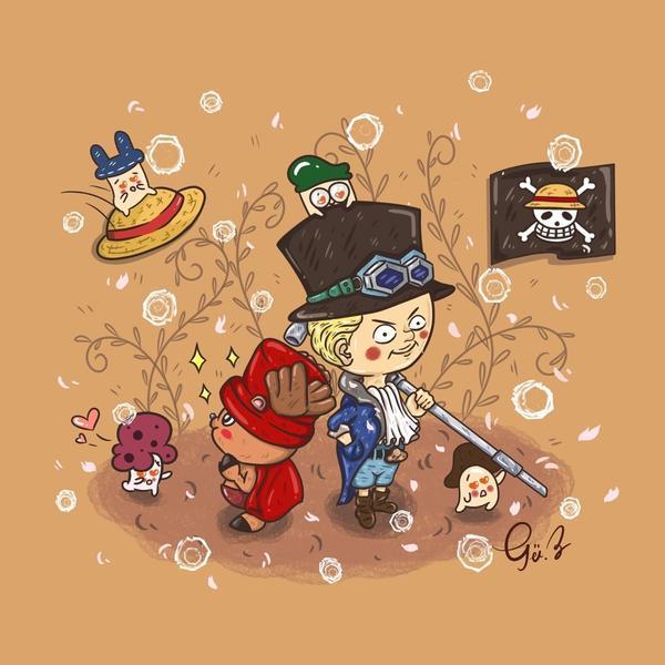 🏴☠️𝑂𝑁𝐸 𝑃𝐼𝐸𝐶𝐸 ☺︎︎從小一直陪伴菇長大的少年漫畫 就航海王是最喜歡的