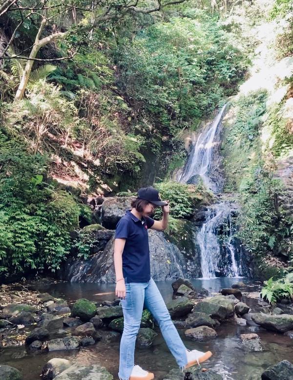 [台北-陽明山]不累的秘境-小隱潭網美景點😅心跳還沒變快就到了😅蚊子🦟很多多多多多夭壽多😤上