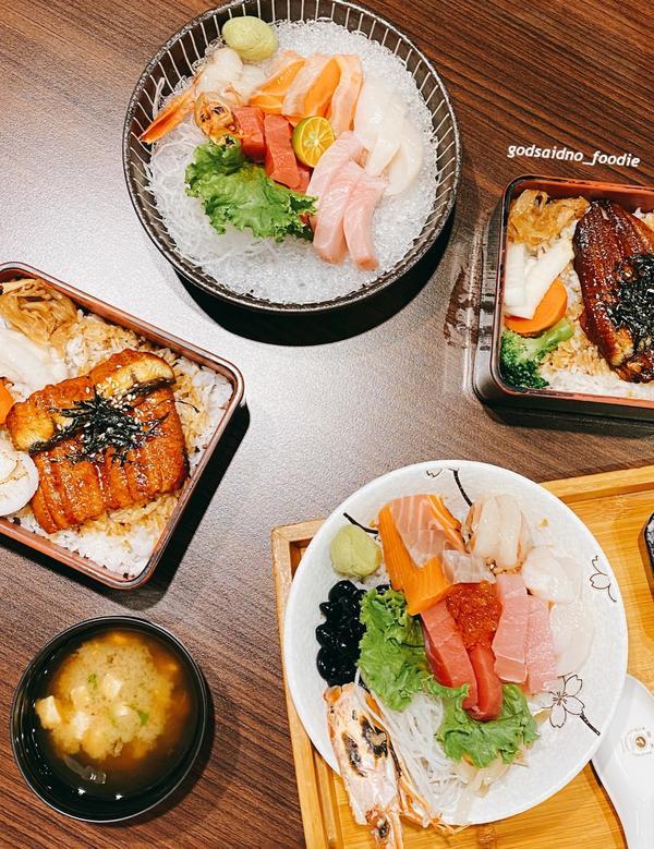 🍽 ᴄʜɪᴀʏɪ嘉義|西區  #三船の鰻丼﹒ 三船在嘉義很久了 以新鮮生魚片和有水準的鰻魚丼起家,