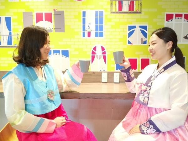 穿越時空體驗當韓國人一日遊🎎