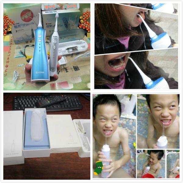 (沖牙機/噴牙機/水牙刷)|搭配牙刷,牙線使用| 來深層清潔平時無法洗淨的 牙間(縫隙),牙齦。#沖