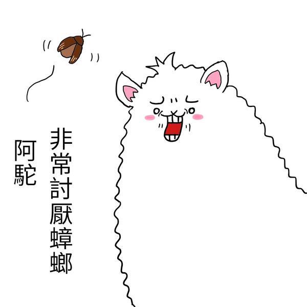【插畫】阿駝初登場作者超討厭蟑螂+超怕蟑螂每次看見蟑螂都是尖叫著叫我媽來處理XD努力的阿駝勤快的過著