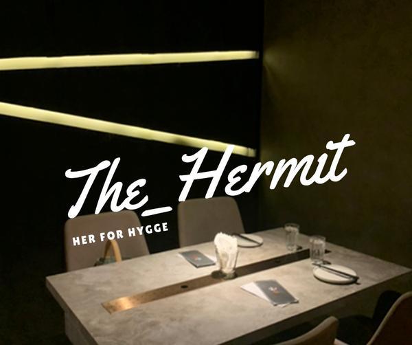 台北美食:東區的台式餐酒館:隱士The_Hermit今天來到了隱士餐酒館因為朋友之前已經有來吃過有先
