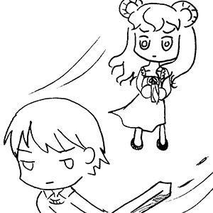 [漫畫創作][必須殺了妳!]第十九頁~第二十二頁必須殺了妳第二十二頁咩咩老師~~~~!我在這部裡面最