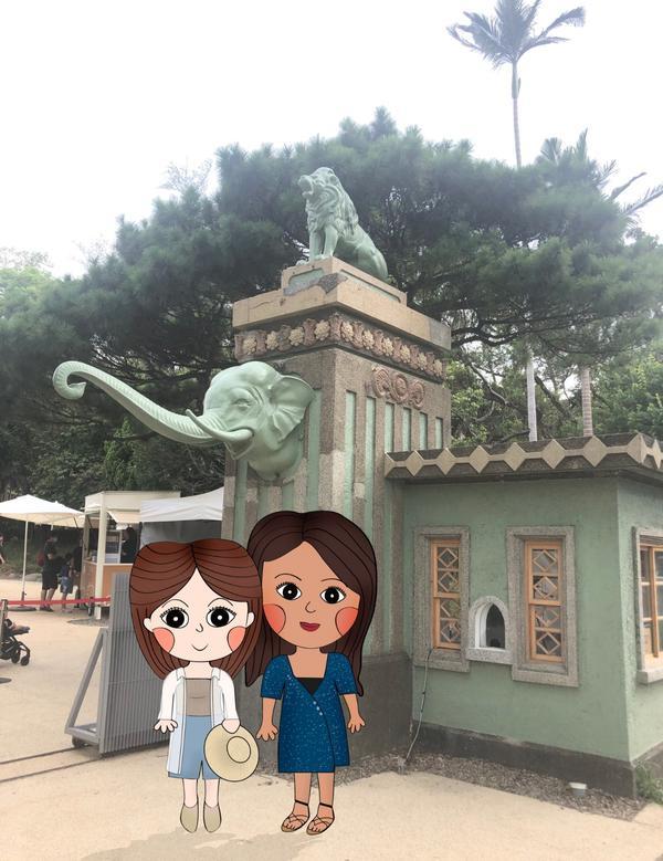 【新竹】古老的迷你動物園,重生後更美麗🐒前一陣子和住在桃園的好友相約新竹,近期家喻戶曉的新景點就是
