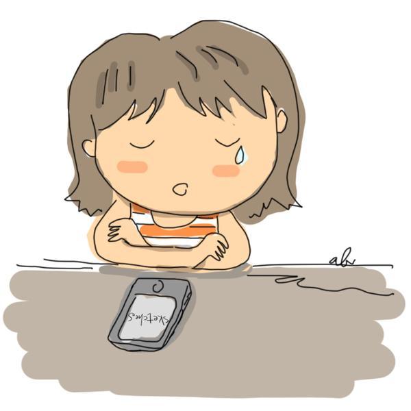 iPhone上的sketches好像怪怪的 寫信去求助中 今天只能用滑鼠畫一張來過度一下 哭哭 😅
